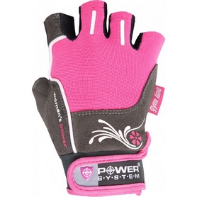 Перчатки спортивные Power System Woman's Power PS-2570 Pink