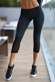 Капри Designed For Fitness Black Net