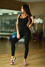 Комбинезон женский Designed For Fitness Black N Green