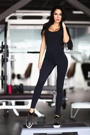 Комбинезон женский Designed For Fitness Black N Rose