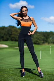 Комбинезон женский Designed For Fitness Perfect Orange