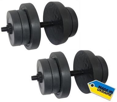 Гантели наборные Newt Rock 2 шт по 20 кг