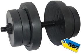Гантели наборные Newt Rock 2 шт по 20 кг - Фото №3