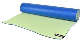 Коврик для йоги (йога-мат) Reebok RAYG-11060BLGN 6 мм