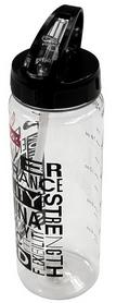 Бутылка спортивная Reebok Power 0,65 л прозрачная