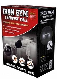 Фото 2 к товару Мяч для фитнеса (фитбол) Iron Gym 65 см