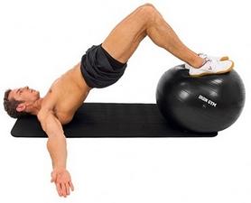 Фото 3 к товару Мяч для фитнеса (фитбол) Iron Gym 65 см