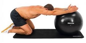 Фото 5 к товару Мяч для фитнеса (фитбол) Iron Gym 65 см