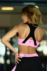 Фото 2 к товару Топ Designed For Fitness Basic Pink push up
