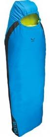 Мешок спальный (спальник) Salewa Micro 850 Quattro левый синий