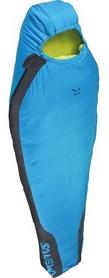 Мешок спальный (спальник) Salewa Micro 600 правый синий