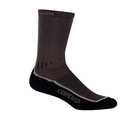 Термоноски мужские Icebreaker Mountaineer Mid Calf gray - L