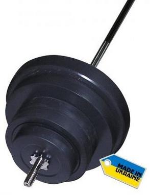Штанга наборная Newt Rock 72 кг