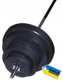 Фото 1 к товару Штанга наборная Newt Rock 72 кг