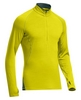 Футболка с длинным рукавом Icebreaker Sprint LS Half Zip Men chartreuse/pine - фото 1