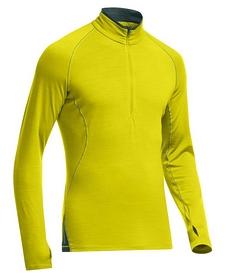 Футболка с длинным рукавом Icebreaker Sprint LS Half Zip Men chartreuse/pine
