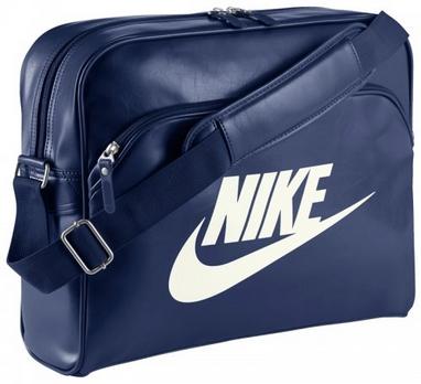 Сумка Nike Heritage Si Track Bag темно-синяя