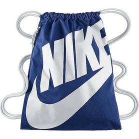 Рюкзак спортивный Nike Heritage Gymsack White Blue