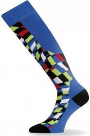 Термоноски лыжные Lasting SUA синие