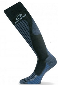 Термоноски лыжные Lasting SWH синие - XL