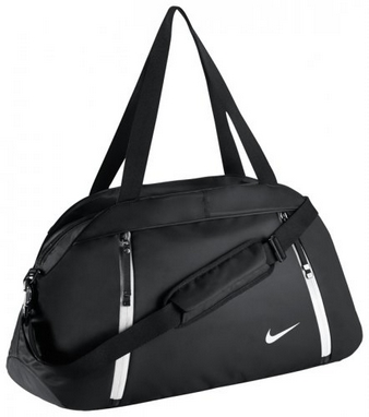 ec4e663b Сумка спортивная женская Nike Auralux Club-Solid черная - купить в ...