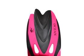 Фото 2 к товару Ласты с закрытой пяткой Dolvor F65 розовые, размер 31-33 - уцененные*