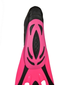 Фото 5 к товару Ласты с закрытой пяткой Dolvor F65 розовые