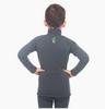 Комплект термобелья детский Catch Joy Zip Charcoal серый - фото 2