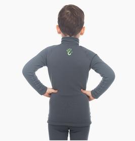 Фото 2 к товару Комплект термобелья детский Catch Joy Zip Charcoal серый