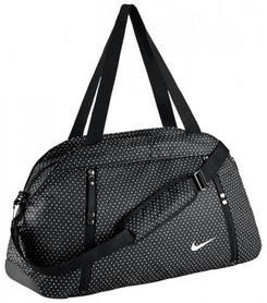 Сумка городская Nike Auralux Club-Print черная