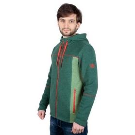 Толстовка мужская Turbat Kosmach зеленая/красная