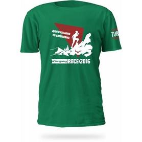 Футболка мужская Turbat Gorgany Race зеленая