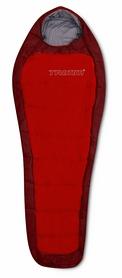 Мешок спальный (спальник) Trimm Impact 185 L red/dark red левый
