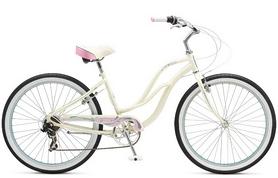 """Велосипед городской женский Schwinn Cruiser Sprite Women 26"""" 2017 белый"""