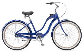 """Велосипед городской женский Schwinn Debutante Women 26"""" 2017 синий"""