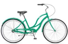 "Велосипед городской женский Schwinn Fiesta Women 2017 - 26"", зеленый (SKD-71-24)"
