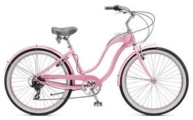 """Велосипед городской женский Schwinn Hollywood Women 26"""" 2017 розовый"""