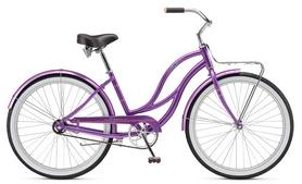 """Велосипед городской женский Schwinn Slik Chik Women 2017 -  26"""", фиолетовый (SKD-43-98)"""