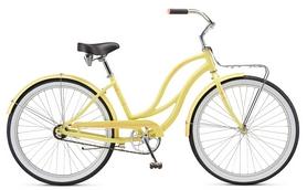 """Велосипед городской женский Schwinn Slik Chik Women 26"""" 2017 желтый"""