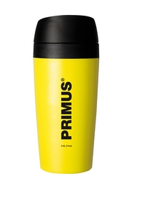 Термокружка пластиковая Primus Commuter Mug 400 мл желтая
