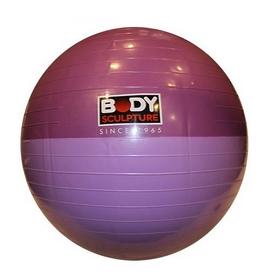Мяч для фитнеса (фитбол) 65 см Body Sculpture малиновый