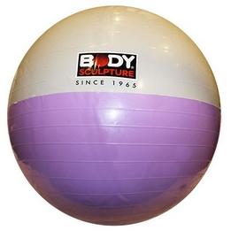 Фото 1 к товару Мяч для фитнеса (фитбол) 65 см Body Sculpture белый