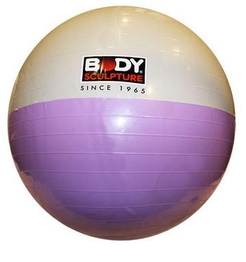 Мяч для фитнеса (фитбол) 65 см Body Sculpture белый