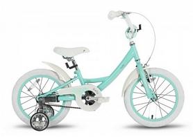 "Велосипед детский Pride Kelly 2016 - 16"", мятный глянцевый (SKD-66-56)"