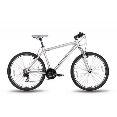 Велосипед горный 26'' Pride XC-2.0 серо-черный матовый, рама - 15