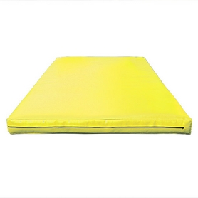 Мат гимнастический Sportko МГ-1 200x100x10см кожвинил желтый