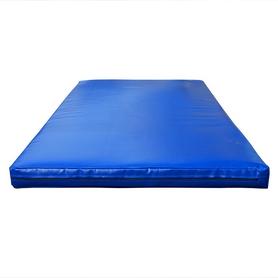 Мат гимнастический Sportko МГ-1 200x100x5см кожвинил синий