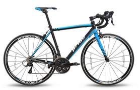 Велосипед шоссейный Pride Rocket Sora 28'' 2016 черно-синий рама - 56 см