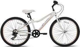 """Велосипед подростковый горный Pride Lanny 7 2016 - 24"""", рама - 24"""", бело-персиковый (SKD-93-75)"""