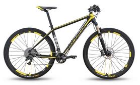 """Велосипед горный Pride XC-29 PRO 2.0 2016 - 29'', рама -21"""", черно-жёлтый матовый (SKD-30-94)"""